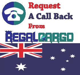 Cargo to Australia from UK