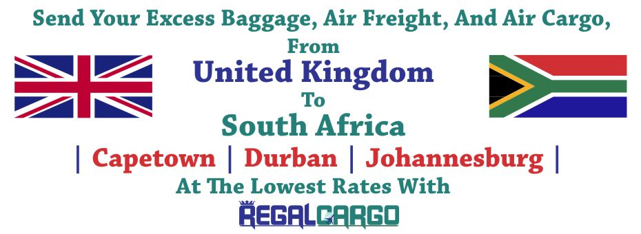 Cargo to South Africa