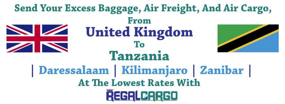 Cargo to Tanzania
