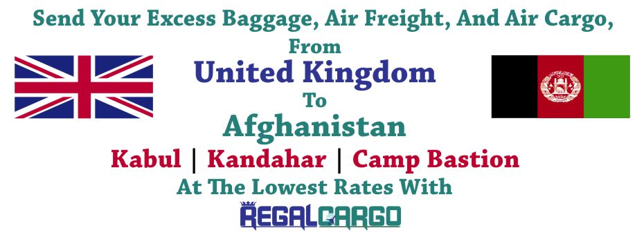 Cargo to Afghanistan
