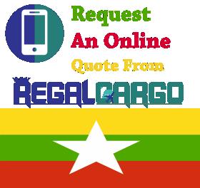 Cargo to Myanmar