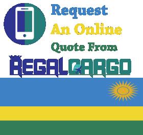 cargo to Rwanda