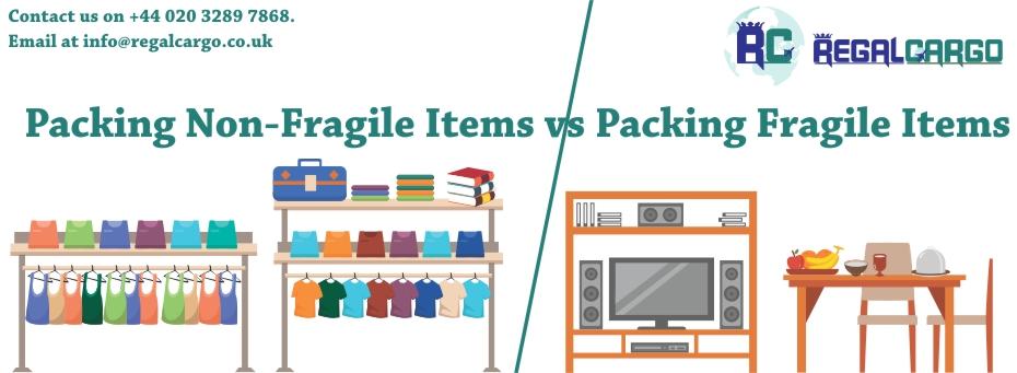 Packing Non-Fragile Items vs Packing Fragile Items